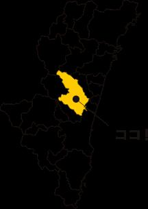 宮崎県の地図上で西都市の位置を示した図